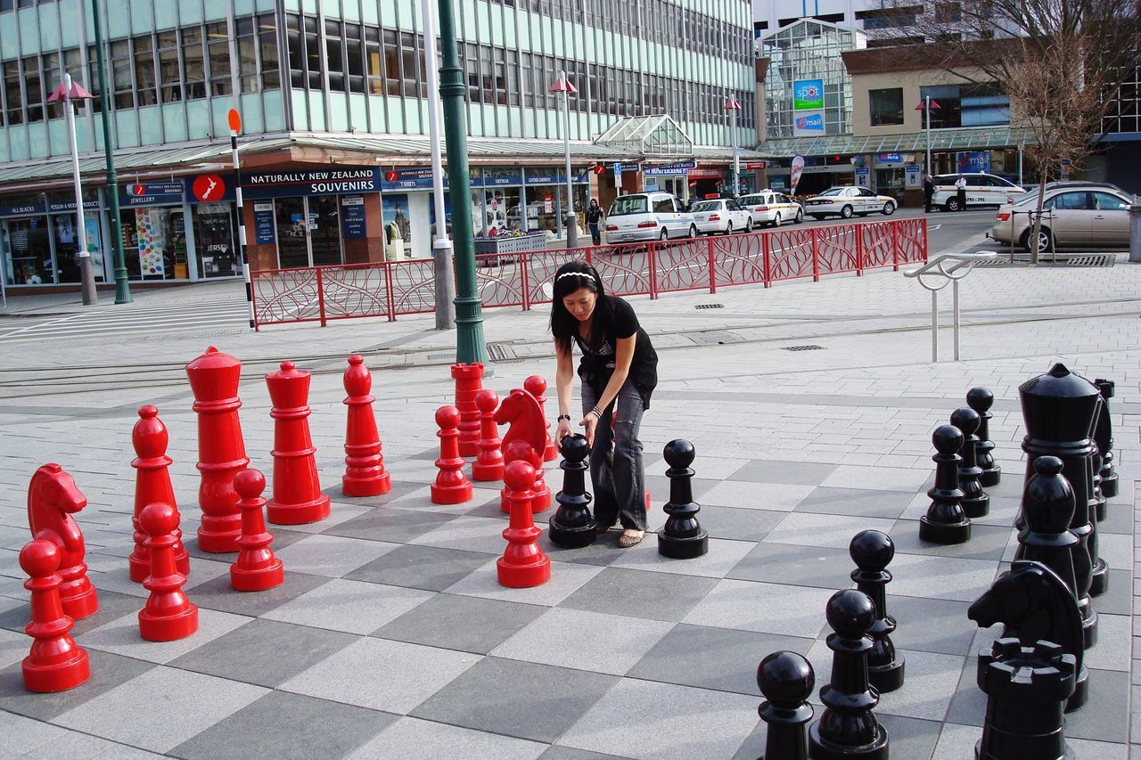 Christchurch New Zealand Play Chess Square Wonderful Moment The Street Photographer - 2017 EyeEm Awards