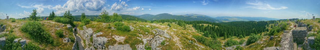 Mount Zebio, 365° panoramic view, Asiago Highland, Vicenza, Italy Travel Traveling Italy Asiago Photography Art Fineart Wwi Military Installations Trenches