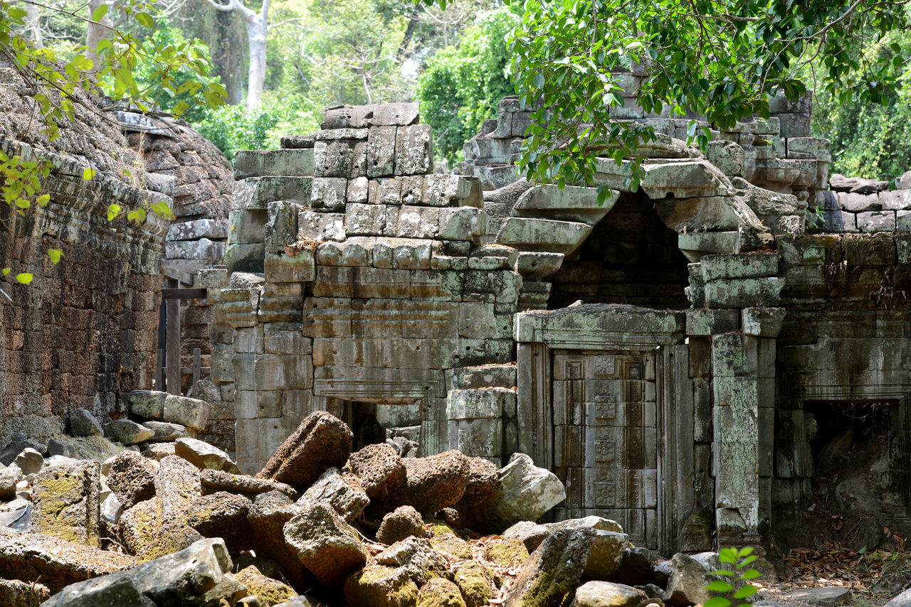Exterior Of Old Ruin Temple