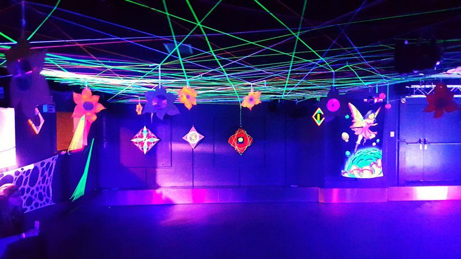 Black Cube Invasion Psychedelicart Psychedelictrance Partydecorations Stringart Goa Party Trippyart Rave