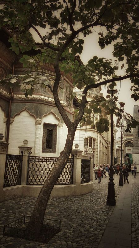 Bucharest Lipscani Romania September Days Historical Building Old Church I Love My Country