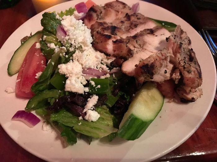 Greek chicken salad Foodspotting