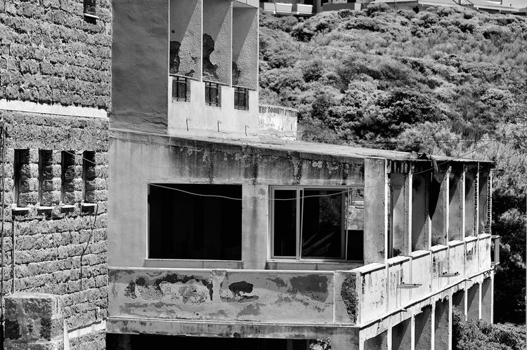 Alghero Architecture Building Built Structure Day Deterioration Exterior Italy Nature No People Outdoors Residential Building