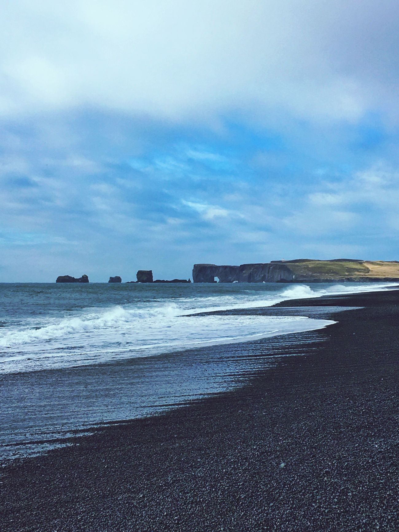 Coastline Waves Great View Iceland_collection Coast Beach Stones Iceland116