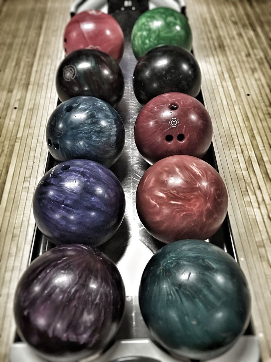 Bowlerama in 'Merica😊👍🏻 No People Close-up Indoors  Multi Colored Bowling Alley Bowling Balls Bowling Simplicity EyeEmNewHere Balls Montana Art Is Everywhere