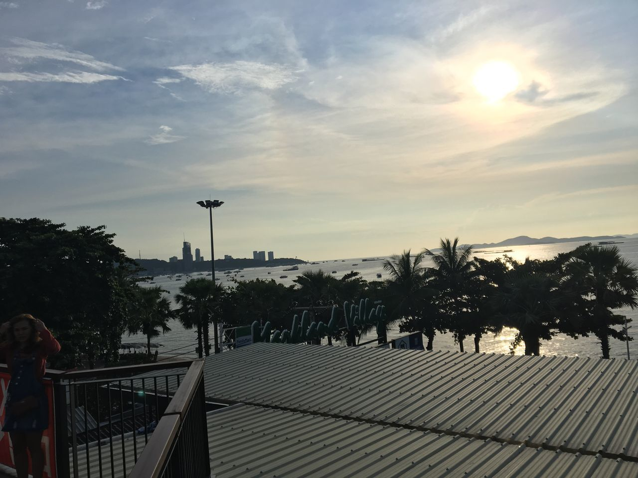 Rooftop at Pattaya Thailand ,also there is the Teddy Island nearby. Rooftop Scenery Scenery Rooftop View  Above View View From Above View Rooftop Pattaya Thailand Thailand Pattaya Teddy Bear