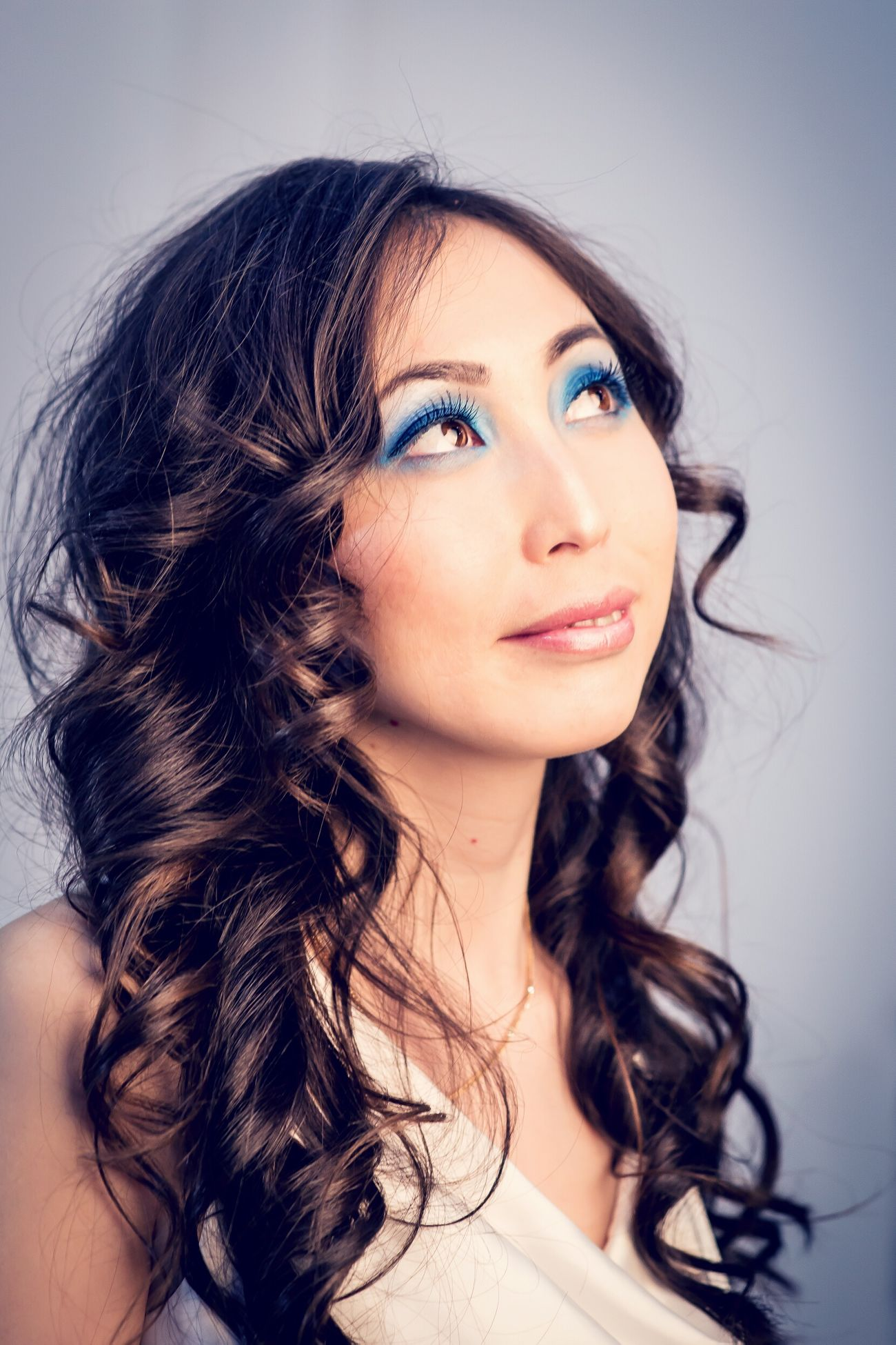 Gerl Make Up Butiful Russian Portrait
