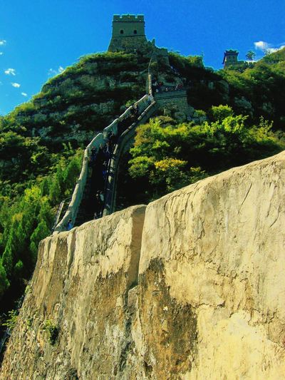 Great Wall Ascent. China Great Wall Of China World Heritage Site China History China Photos China 's Charm