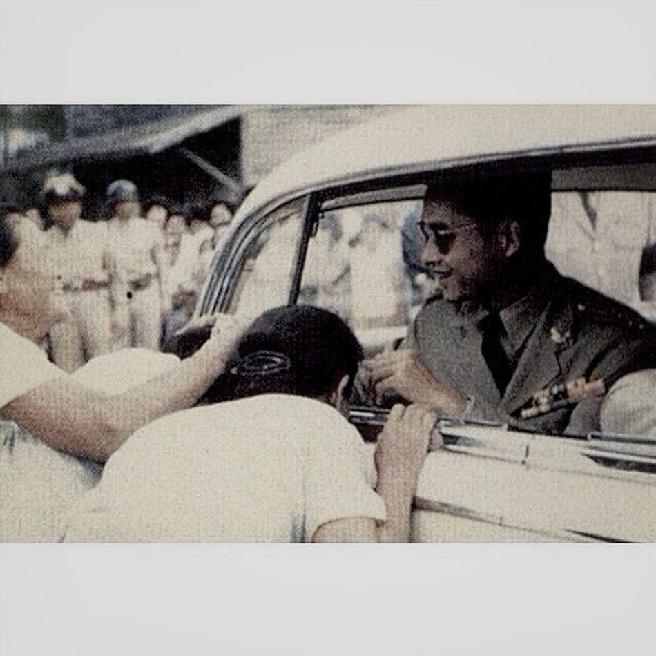 Black And White Vintage Thailand King