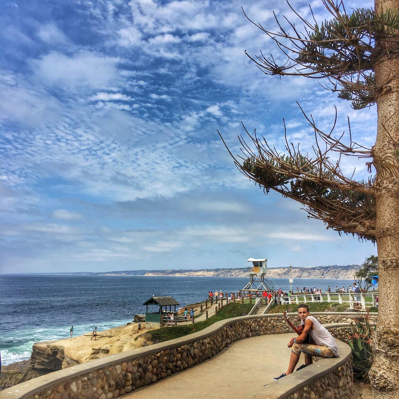 La Jolla-The Jewel of San Diego Sea Sky Vacations Travel Destinations Tranquility Coastline Beach