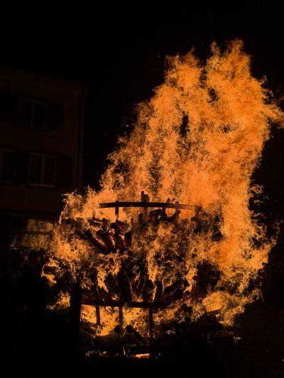 Chienbäse in Liestal, Basel-Landschaft. Chienbäse Liestal Basel, Switzerland Night Burning Flame No People Fasnacht Fasnet Fasnacht 2017 Swiss Swisslife Friends