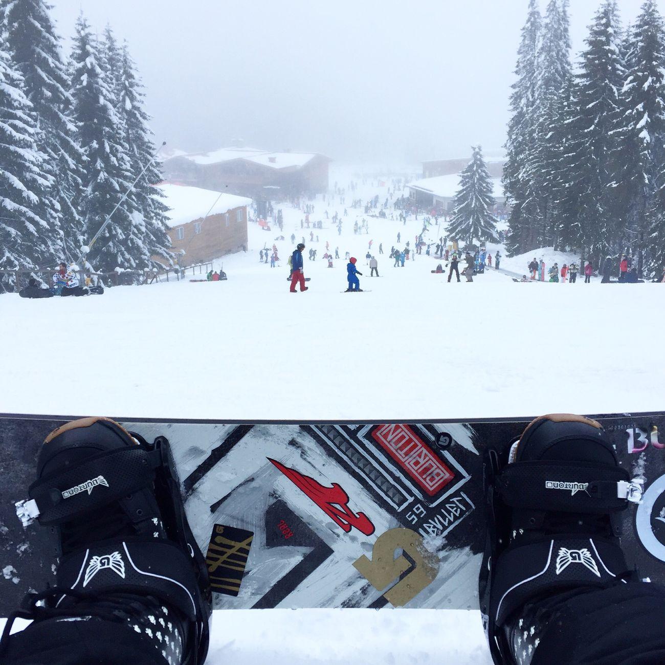 Snowboard Hanging Out Bansko Enjoying Life