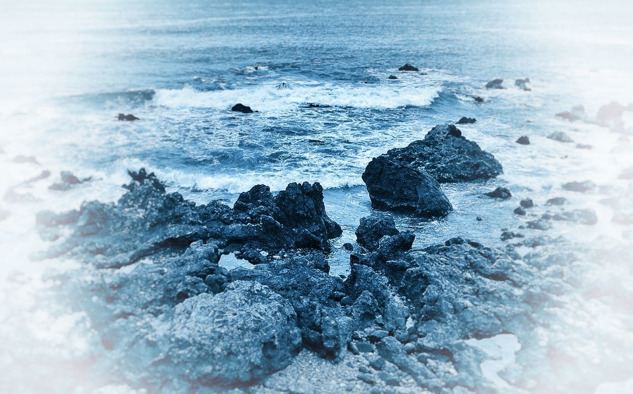 Tenerife Canary Islands Taking Photos Sea EyeEm Best Edits IPhoneography Minimalism Supernormal Blue Relaxing