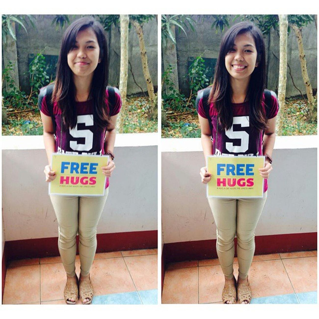 Free Hug! Adnu BusinessWeek and PsychologyWeek