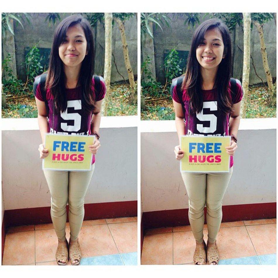 Free Hug! Adnu BusinessWeek and PsychologyWeek