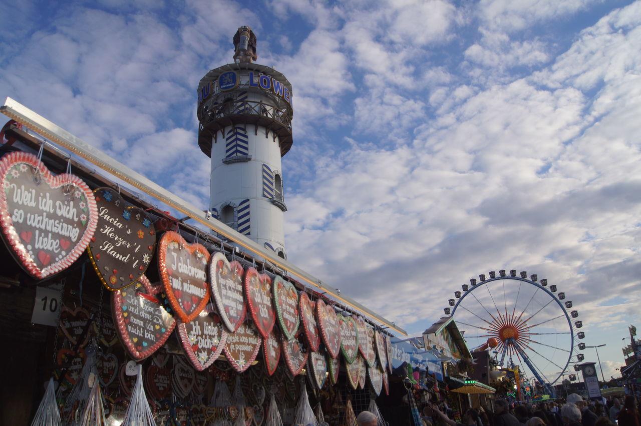 Beautiful stock photos of oktoberfest, Cloud - Sky, Ferris Wheel, For Sale, Gingerbread Cookie
