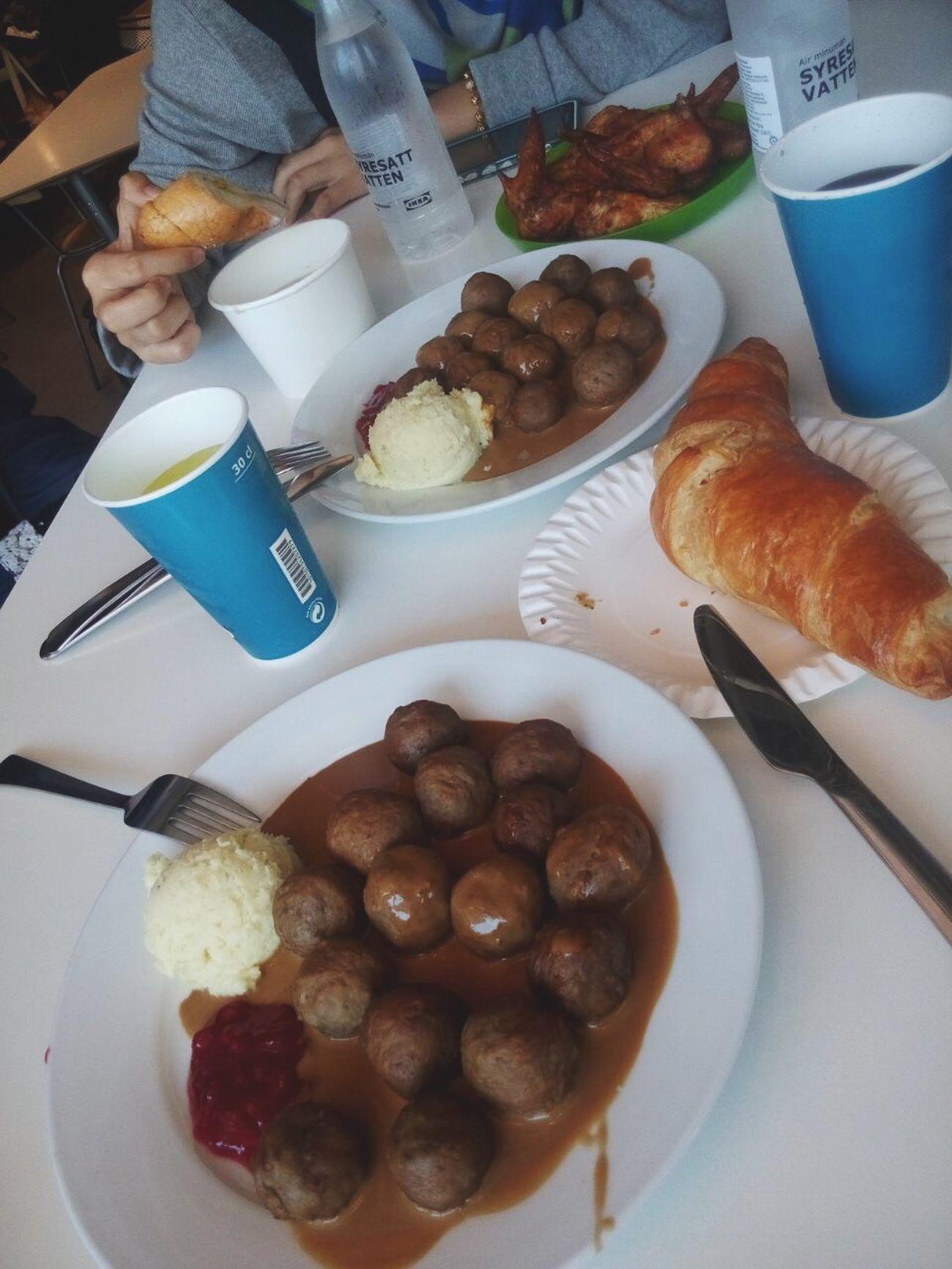 IKEA meatballs w friends IKEA Outing Girlsdayout