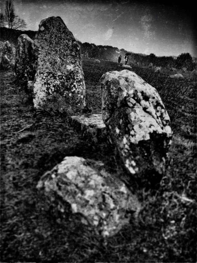 Carnac Megalithic Monochrome NEM Black&white