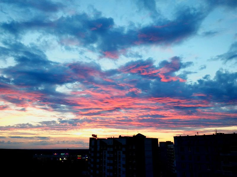 My First Photo Sunset Rosesky Summerdays  First Eyeem Photo