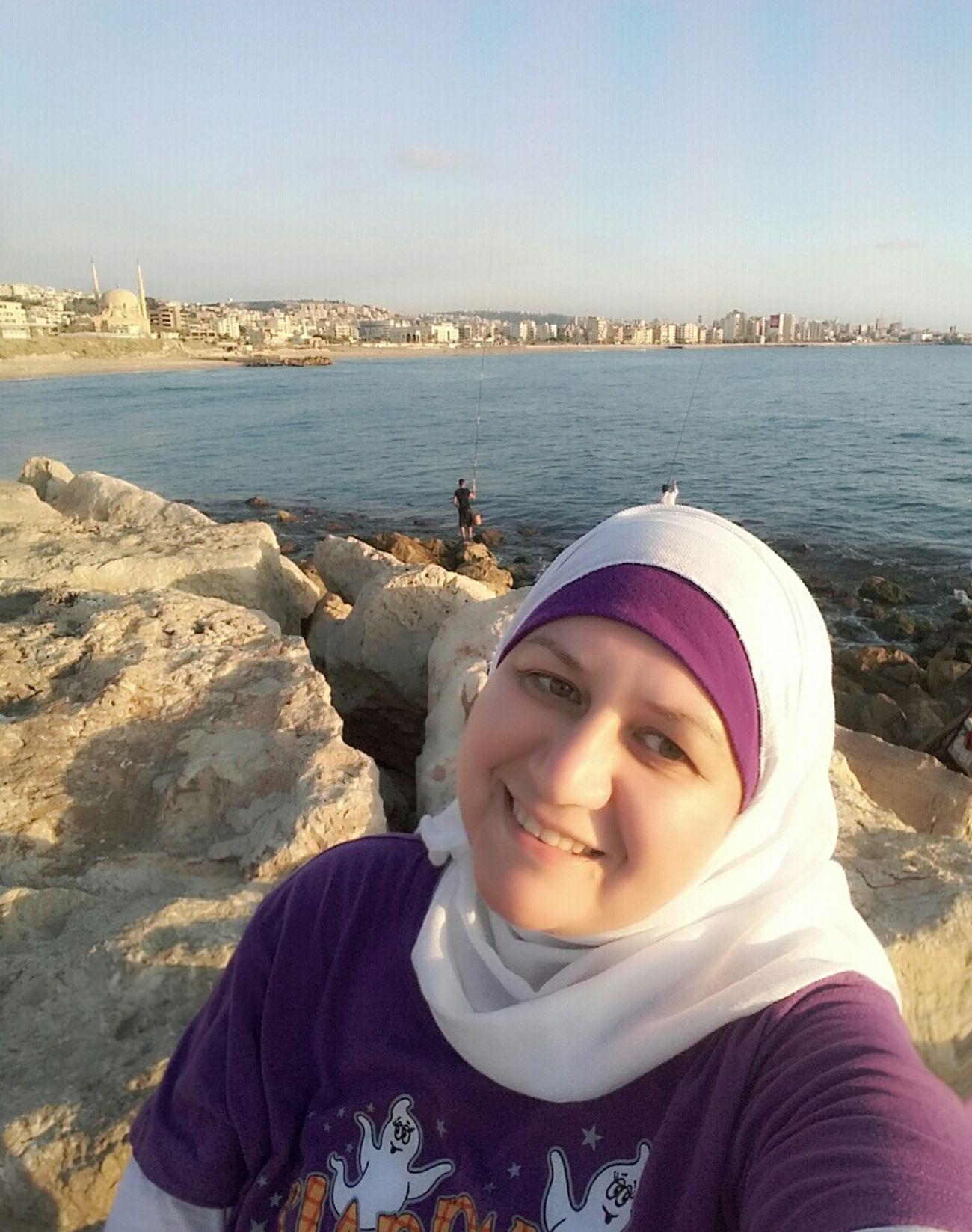 Self Portrait Around The World Sidon Lebanon Seaside Cityscape That's Me Enjoying Life Hello World