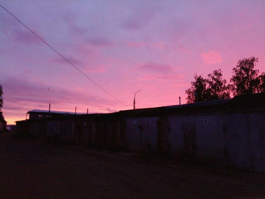 розовоенебо гаражи