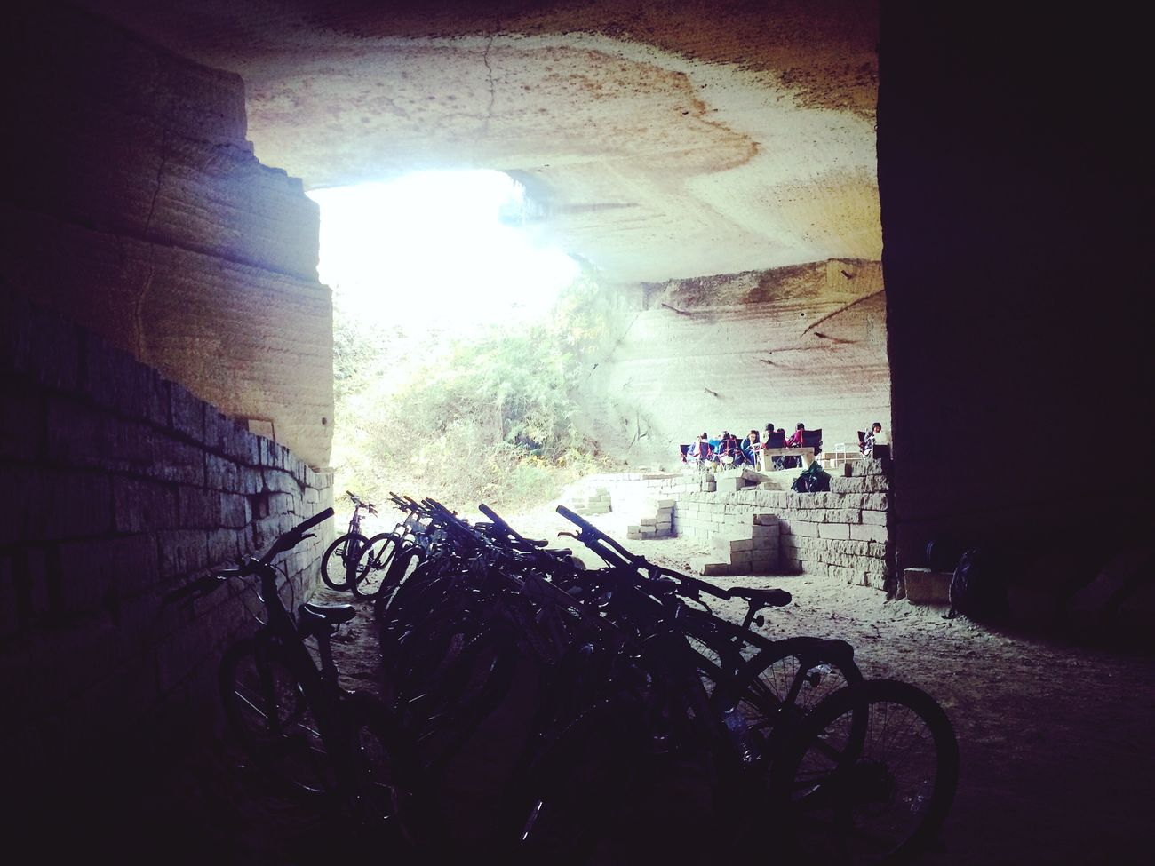 Underground 宇都宮 Utsunomiya 大谷石 大谷採石場 地底 Japan Ohyaunderground Cycle Lunchtime チイキカチ