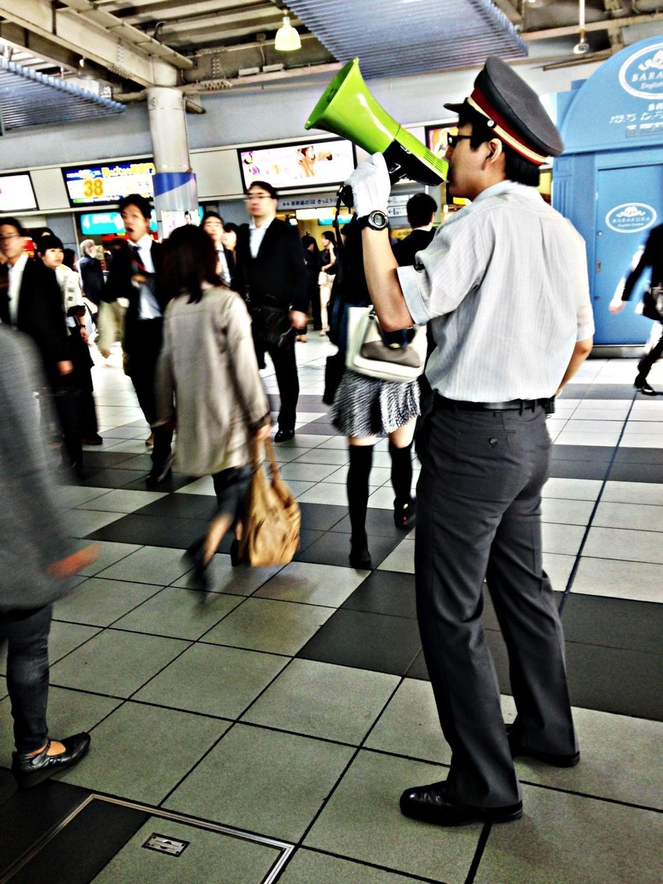 Commuting Rush Hour Public Transportation Making Noise