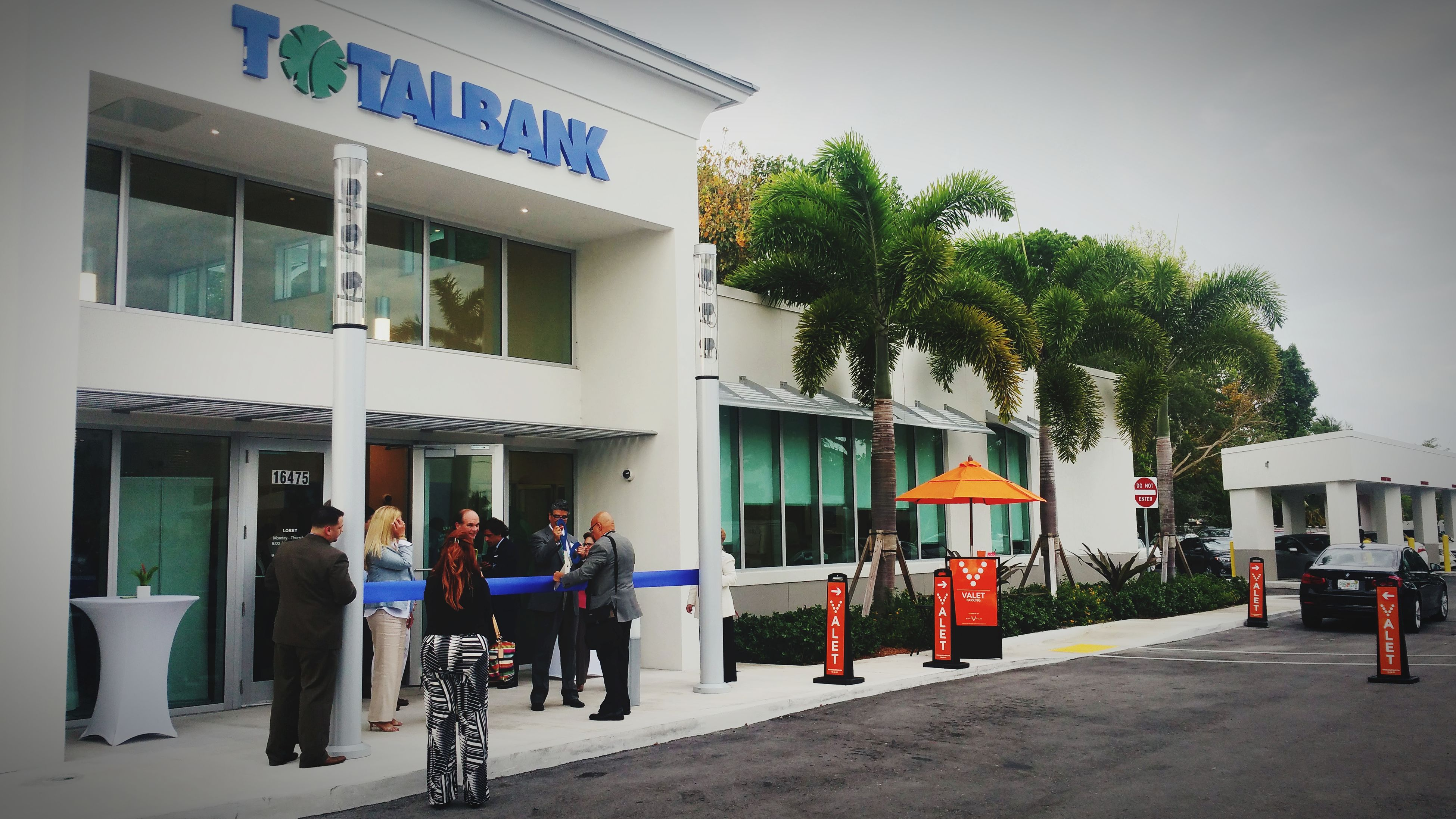 Vault Valet at the grand opening of total bank in Pinecrest Florida. First Eyeem Photo