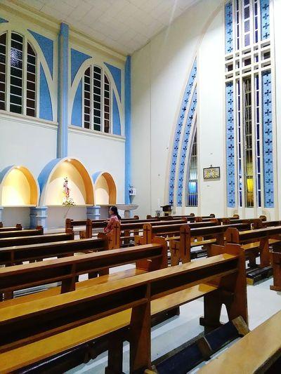 Church, pray, mother