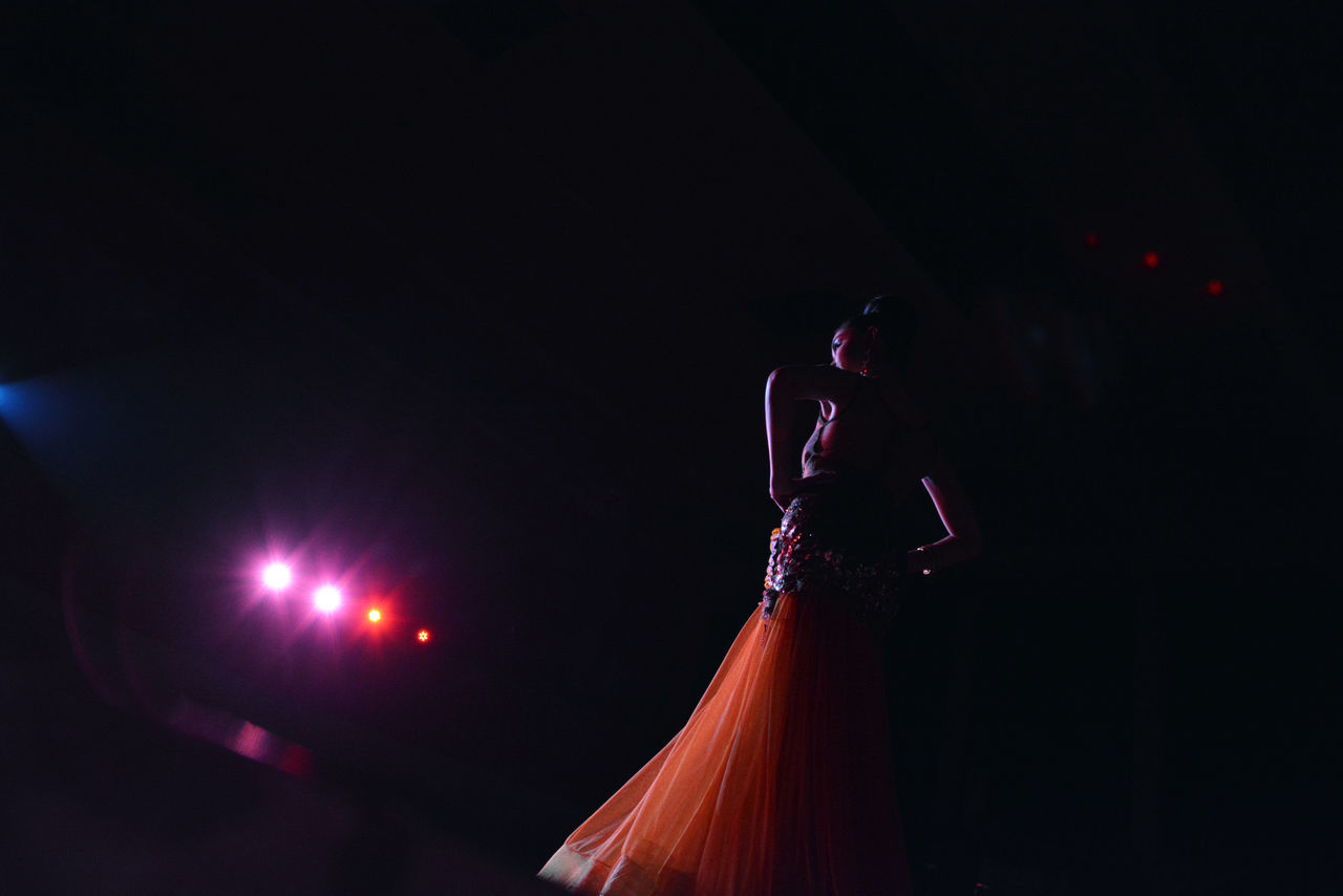 Confidence and beauty Arts Culture And Entertainment Beautiful EyeEmNewHere Fashion Fashion Photography Filipina Girl Gown Lights Love Model One Person Pageant People Performance Performing Arts Event Philippines School Shadow Silhouette Stage Stage Light Stagephotography University Young Adult