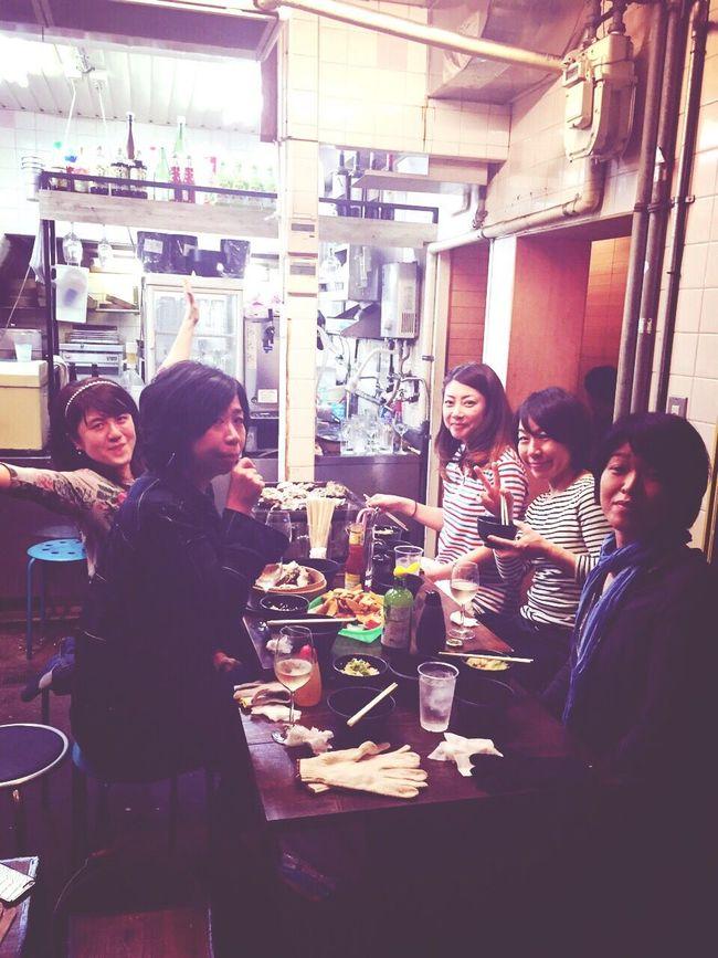 牡蠣祭り⤴️😋🎉 Hello World Enjoying Life Feeling Happy Iloveoyster Drinking Wine With Friends