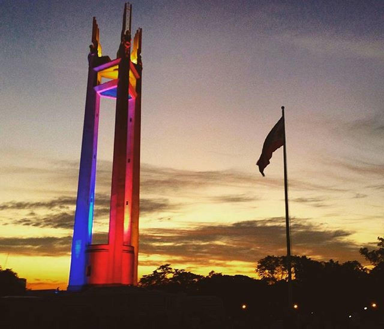 Quezon memorial circle Philippines Quezoncitybased Quezoncity IPhoneography Shutterbug QMCtower Citybranding Citybrand