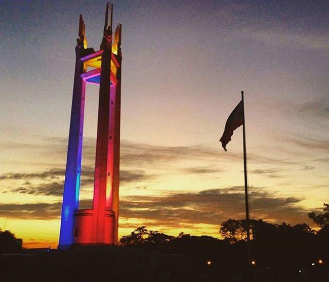 Quezon memorial circle Philippines Quezoncitybased Quezoncity IPhoneography Shutterbug QMCtower Citybranding Citybrand