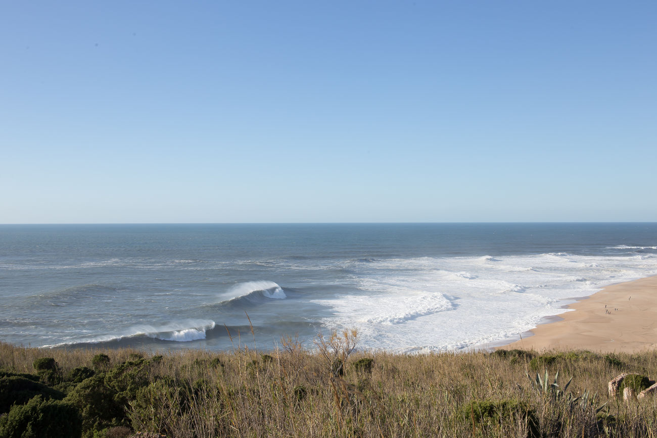 beautiful portugal Beach Beauty In Nature Blue Clear Sky Day Horizon Over Water Nature No People Outdoors Scenics Sea Sky Water