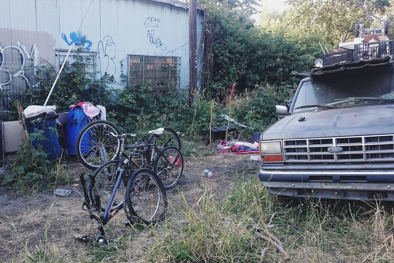 No People Urban Homelessness  Portland Outdoors