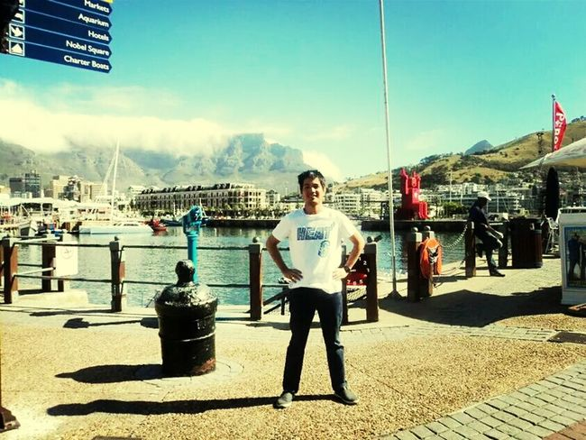 Hanging Out ,, table mountain south africa..
