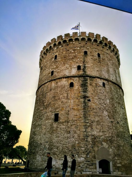 White Tower of Thessaloniki cendral Macedonia GREECE Architecture Built Structure History Travel Destinations Outdoors Mobile Photography ONLY ,😉 EyeEm In The City