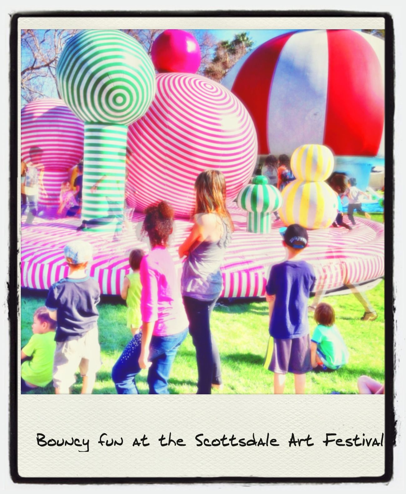 Great time at the Scottsdale Arts Festival with Scottsdale Public Art and Friendswithyou  IPhoneography