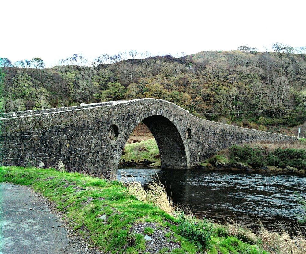 Every Picture Tells A Story Bridge Over The Atlantic West Coast Scotland Tourist Attraction  Humpback Bridge Historical Place