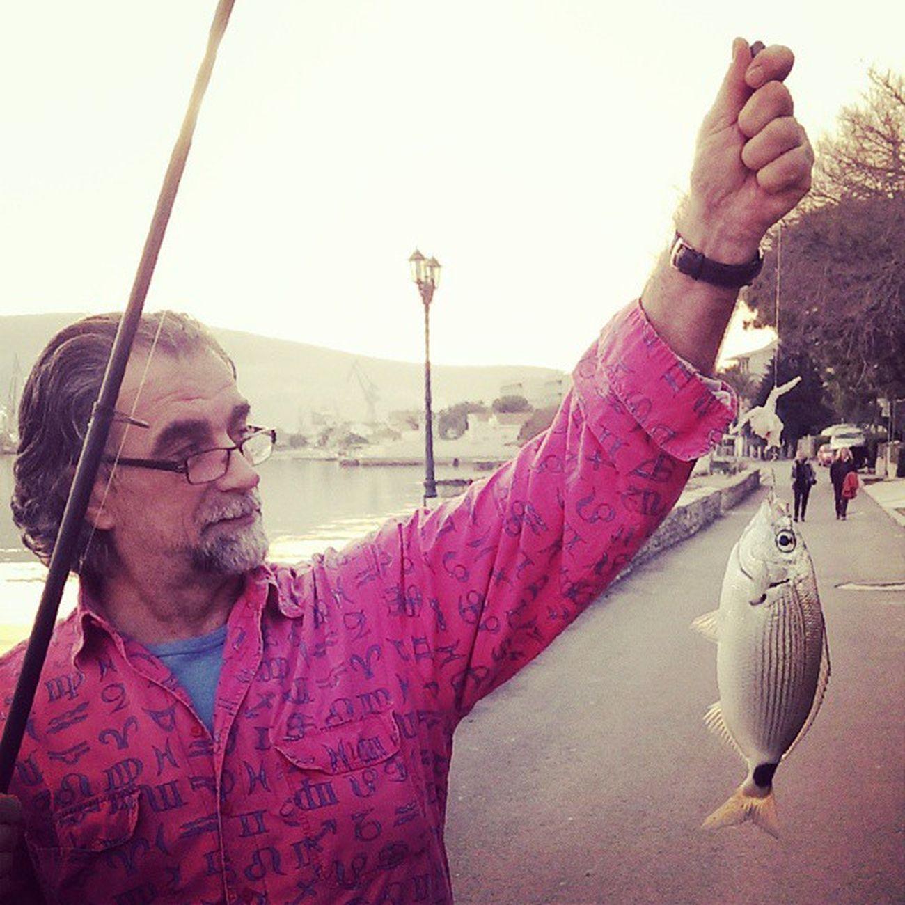 Tata terorise :D Fishing Bokakotorska Oldman Catchoftheday Baylife