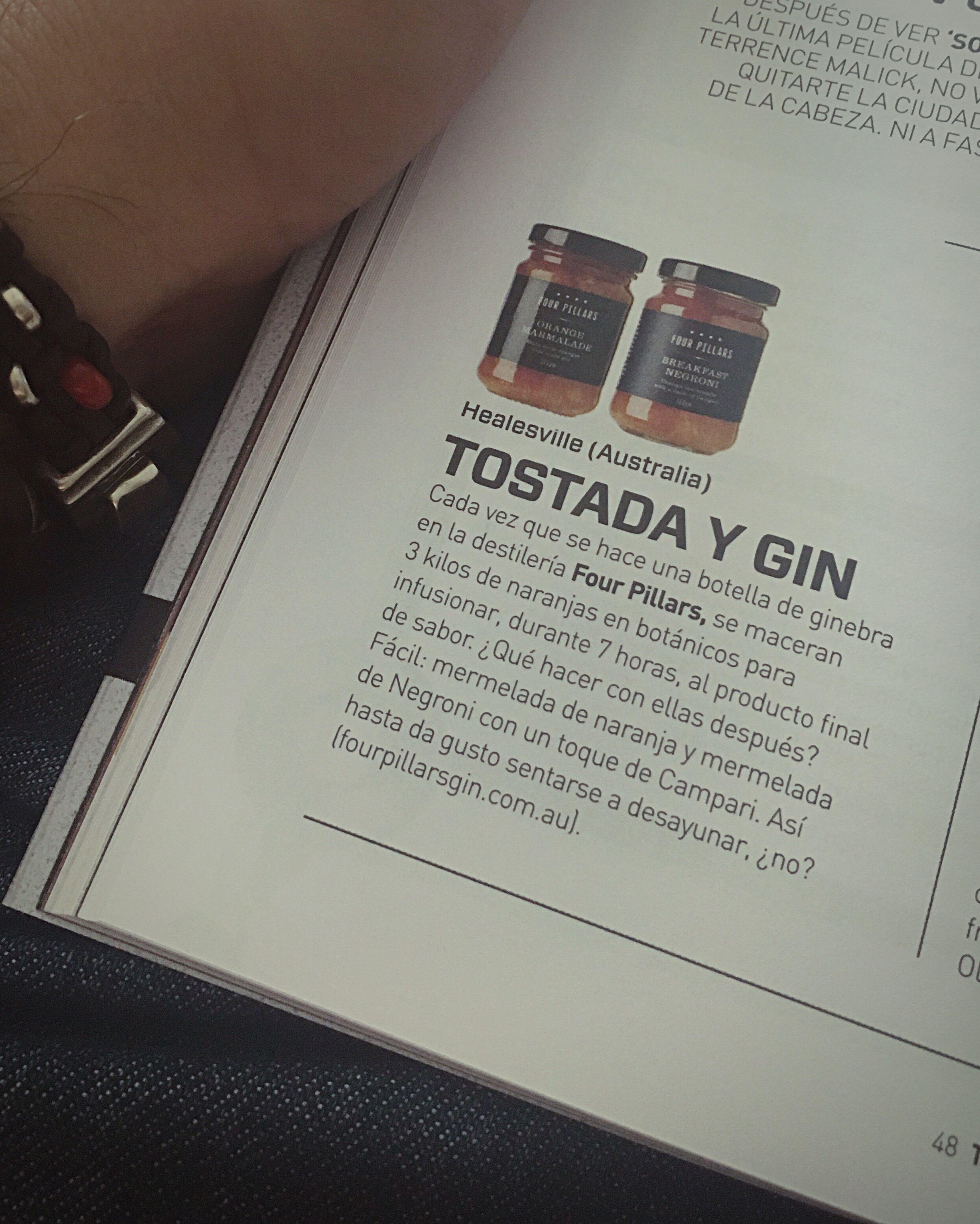 Detodounpoco Magazine Tapas Gin & Jam 😋