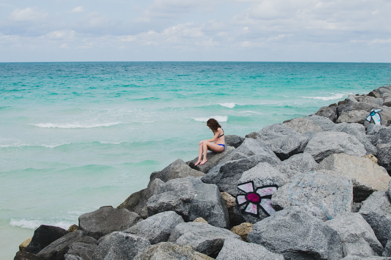 Amazing Beach Beach Photography Beautiful Beautiful Woman Beauty Beauty In Nature Day Landscape Landscape_Collection Landscape Photography Miami Miami Beach Nature Nature Photography Nature Collection Ocean Ocean View Peaceful Rocks Rocks And Water Sand Sand & Sea Sea Travel Let's Go. Together.