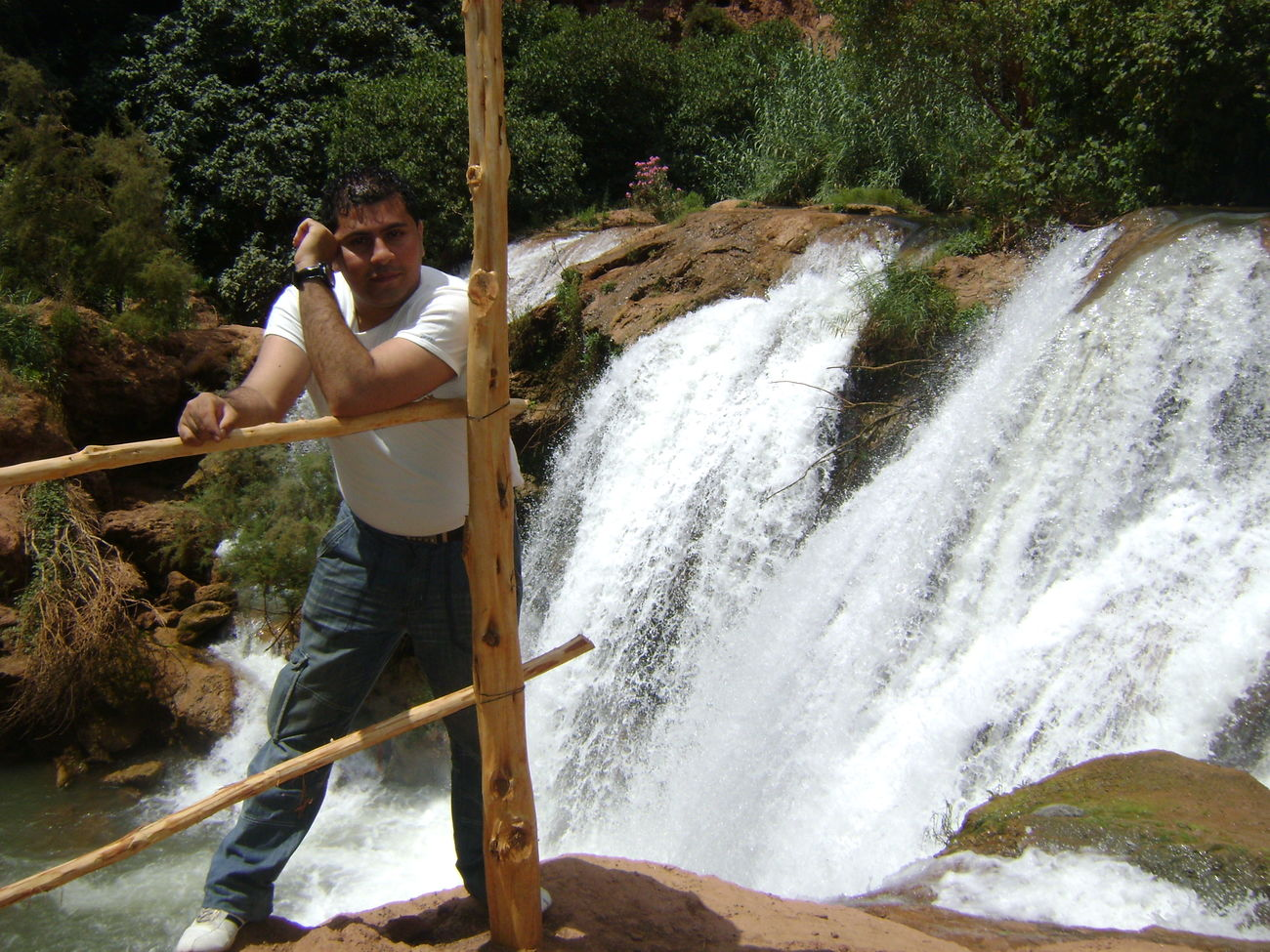That's Me Beautiful Nature Cascade Ouzoud Morocco