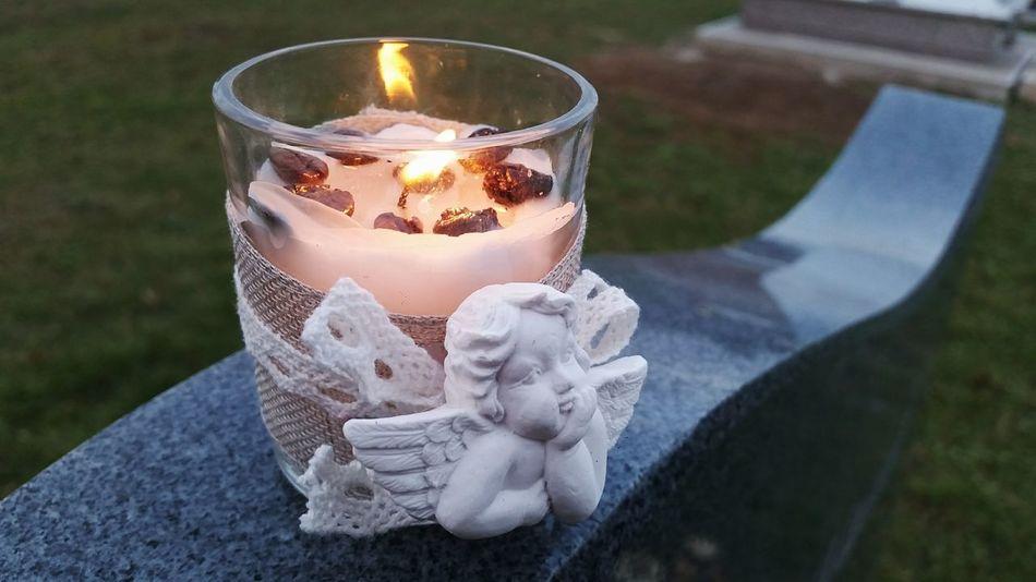 AllSaintsDay Allsaints Memories Memory Candle Candlelight Angel Angels El Dia De Los Muertos