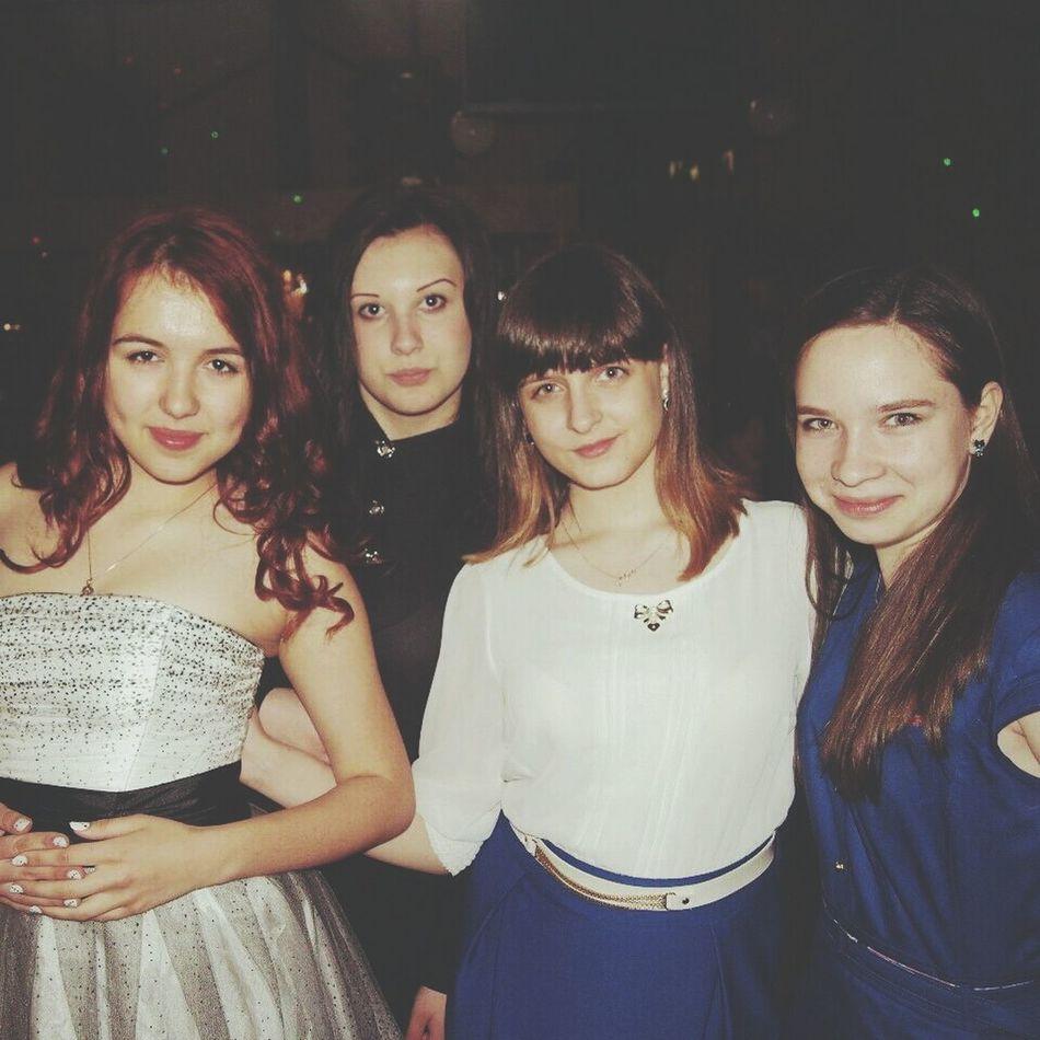 My Favourite Band. Girls Restourant  Happy