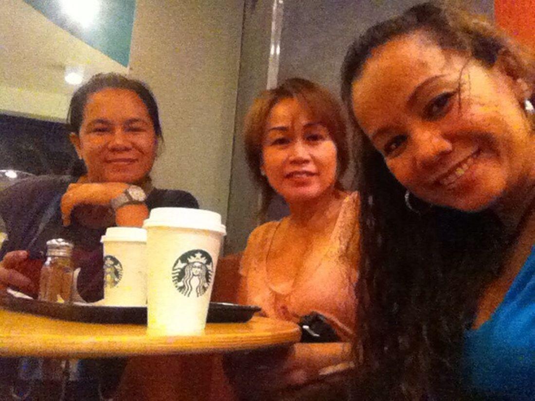 Coffee Break ☕️☕️☕️ bonding with sister in law, Boracay StopOver Happy :)