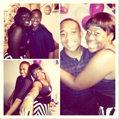 Me And My Bestfreind Aaron At My Party