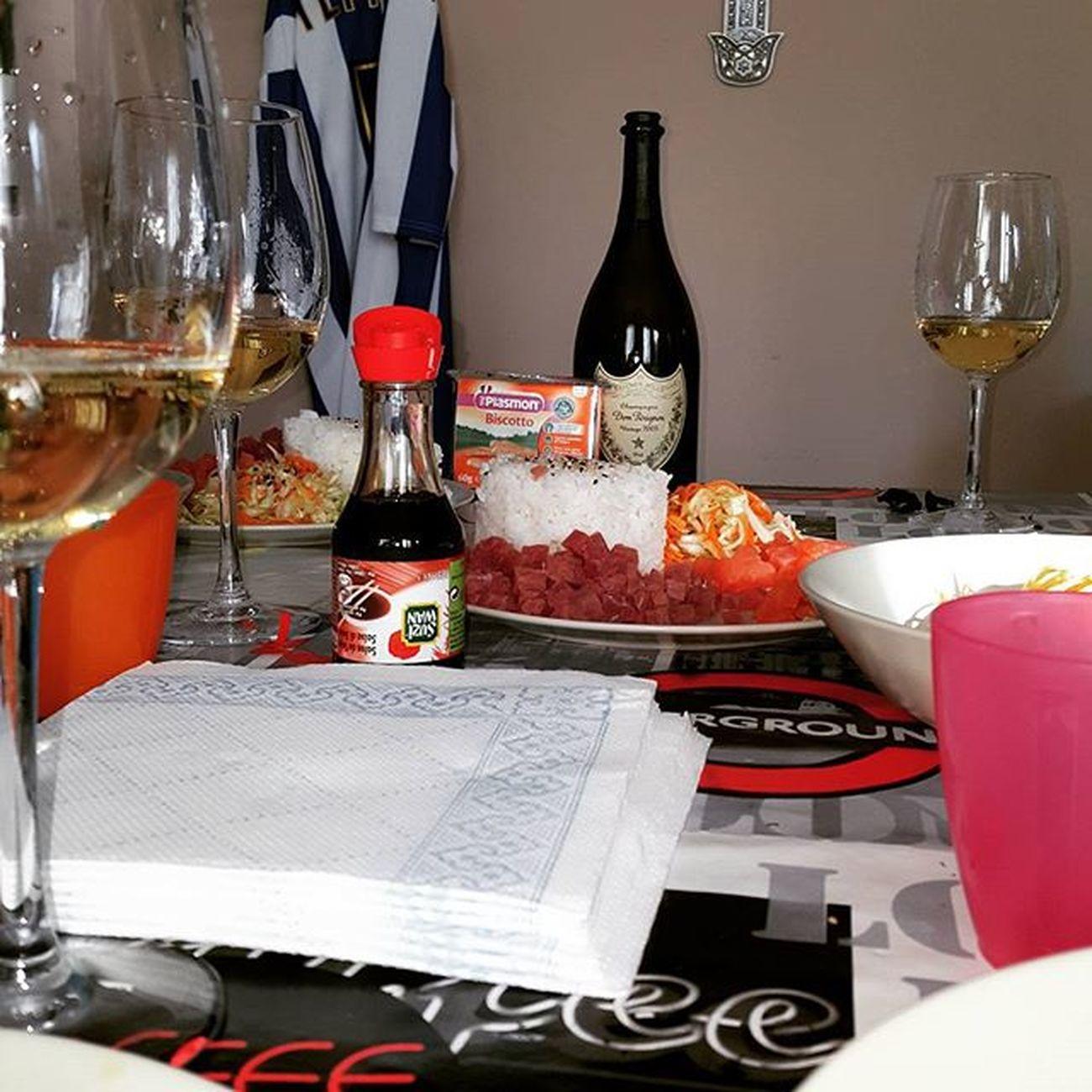 Donperignon sushi & Plasmon Farepietaalcazzo