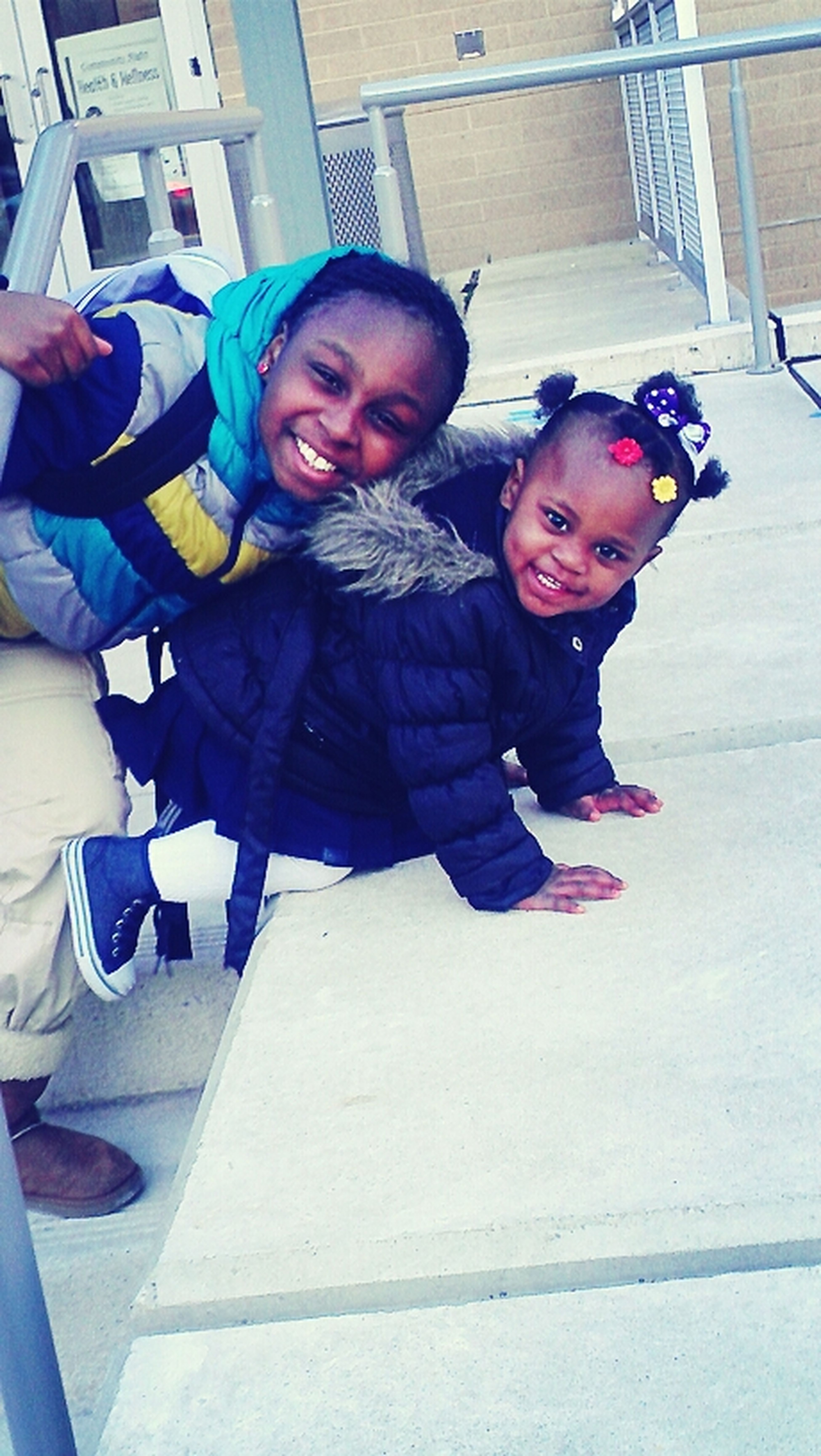 My Two Baby Sisters!!!!