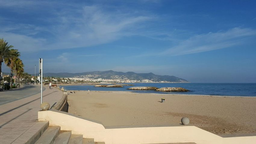 Barcelona SPAIN Beach Shoreline Beach Resort Boardwalk Coastal Layovers World Travel Missions2015 Mobilephotography Mobile Photography
